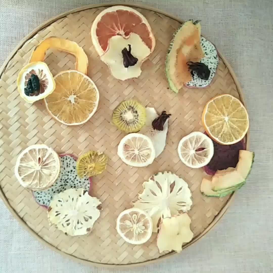 卸売新着健康観賞おいしいフルーツスライスハーブフルーツティー