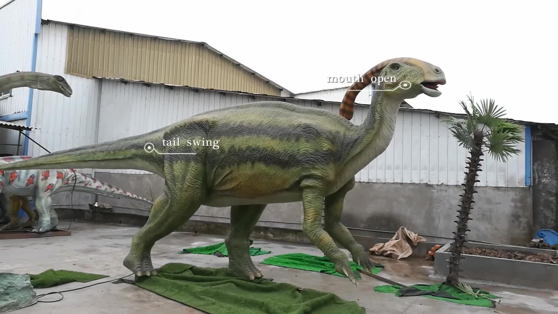 KANO-006 Amusement Park animatronic parasaurolophus