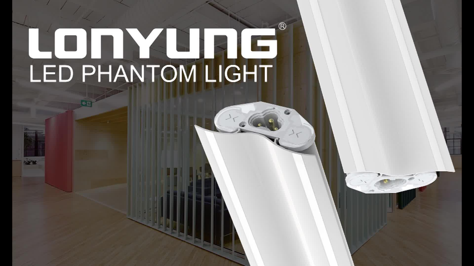 LED phantom light modern wall lamp zhongshan line lamp housing & office decor