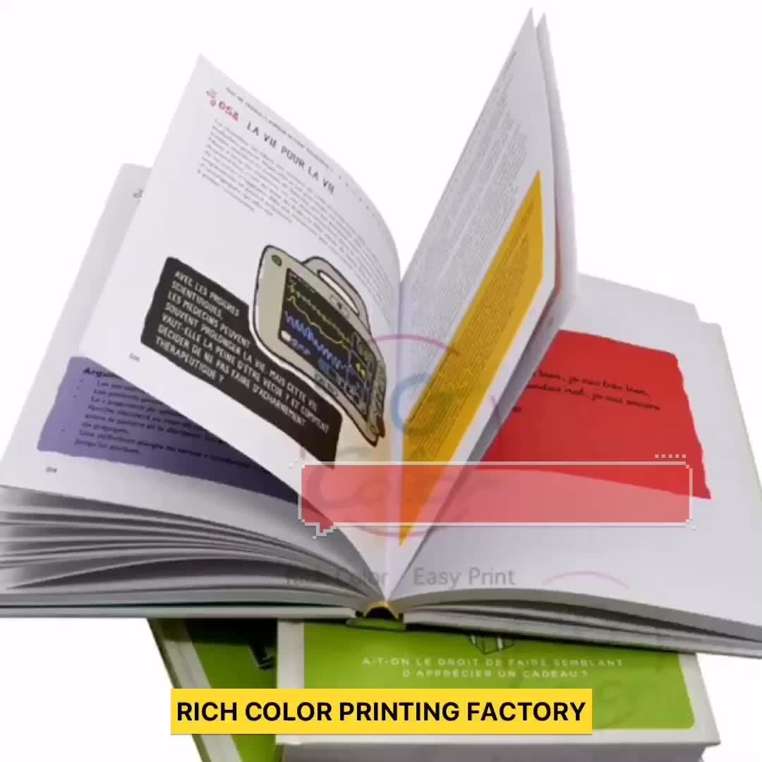 Alta qualidade eco-friendly personalizado crianças placa de papelão livro impressão sob demanda