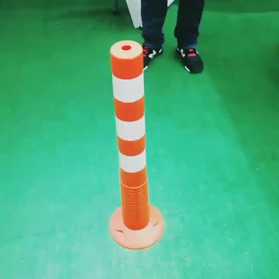110cm אוסטרלי פופולרי T-למעלה בולארד מפריד עם כבד גומי בסיס היי רעיוני קלטת