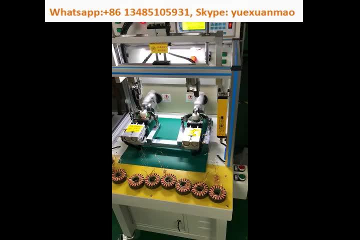 자동 표 팬 Motor Stator Coil 권선 기계