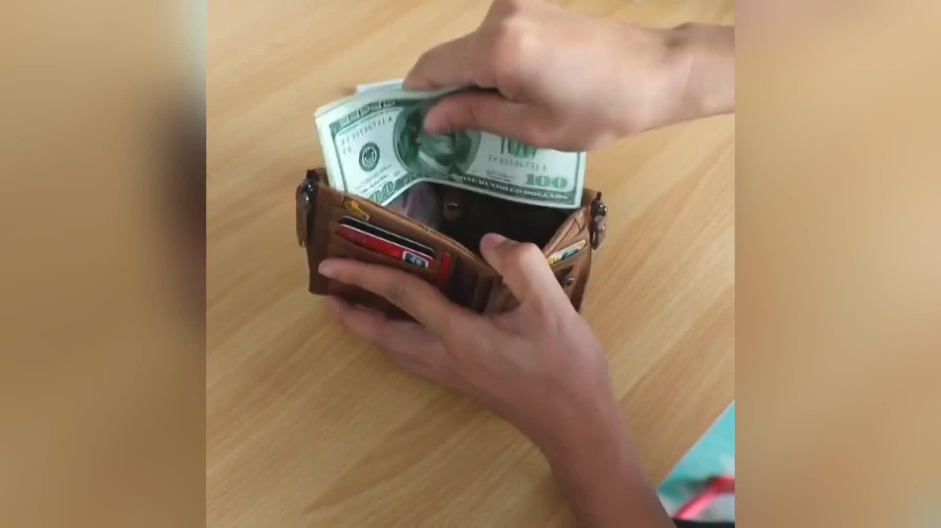 Estanla ブランド本革財布高級プレミアムメンズウォレットクレジットカードホルダーショート財布男性のための