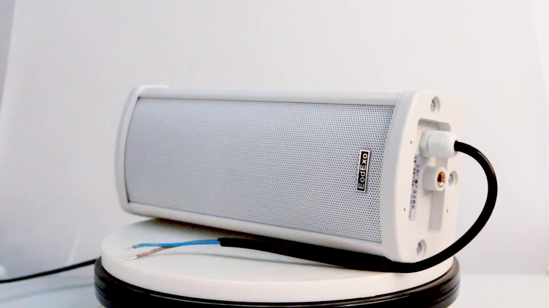 Oupushi pa systeem outdoor achtergrond muziek systeem 20 w luidsprekers waterdicht
