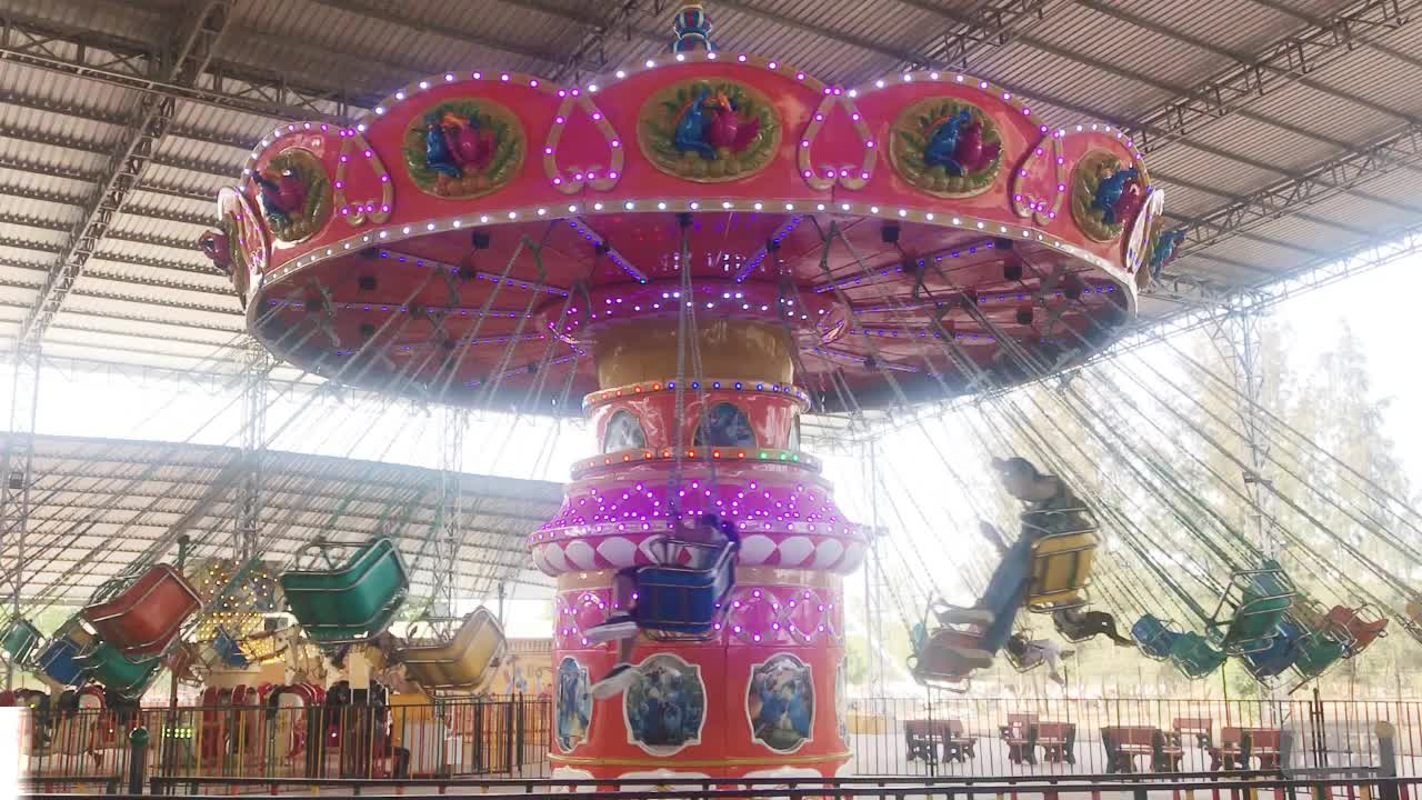 Funfair Rides Games New Design Super Electrical Flying Chair Ride