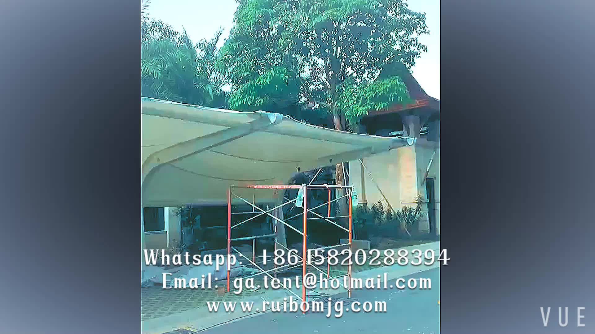 bus station canopy tent stainless steel carports with high quality