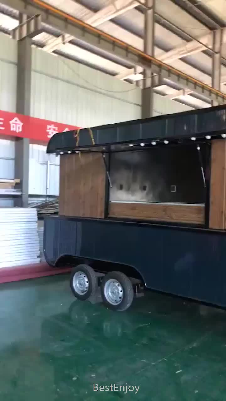 2020 CE Approved New Arrival Outdoor Mobile Food Trailer/ Street Mobile Food Cart/ China Factory Mobile Food Truck For Sale