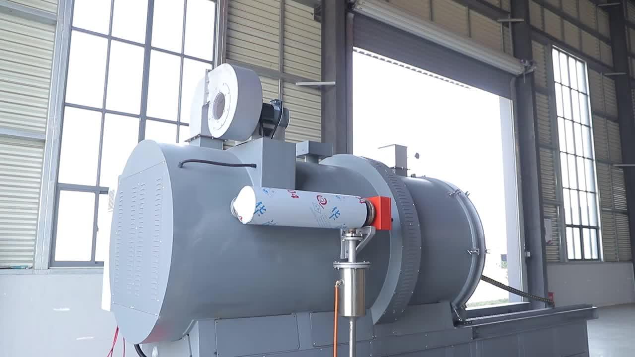 ความร้อนทำความสะอาดเตาอบกำจัดโพลิเมอร์โลหะสำหรับอุตสาหกรรมพลาสติก