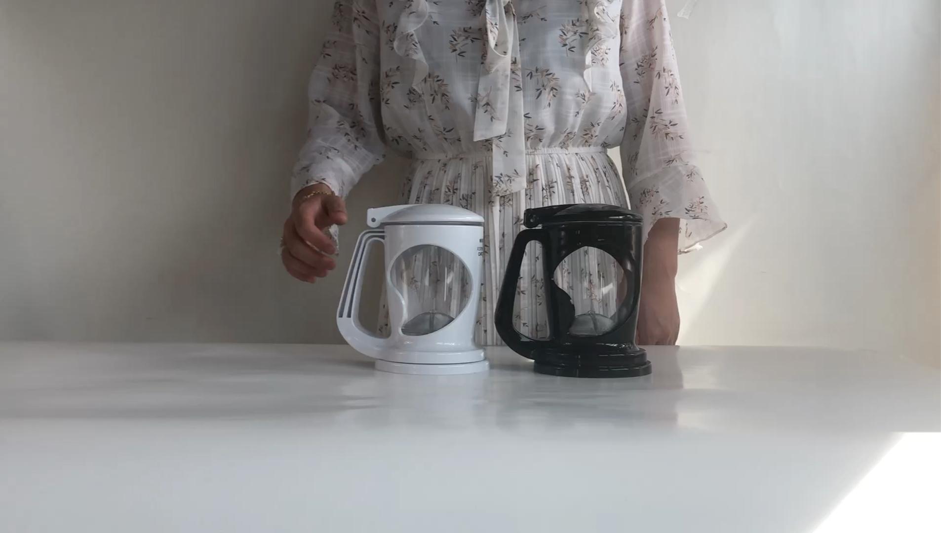 400ml mini plastic coffee espresso maker,Outdoor Travel Camping Portable teapot