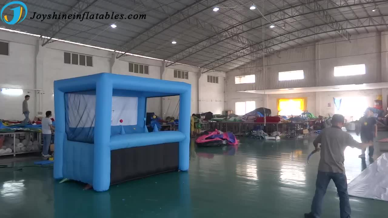 Popular outdoor play Inflatable hoverball archery shooting inflatable archery target for shooting game