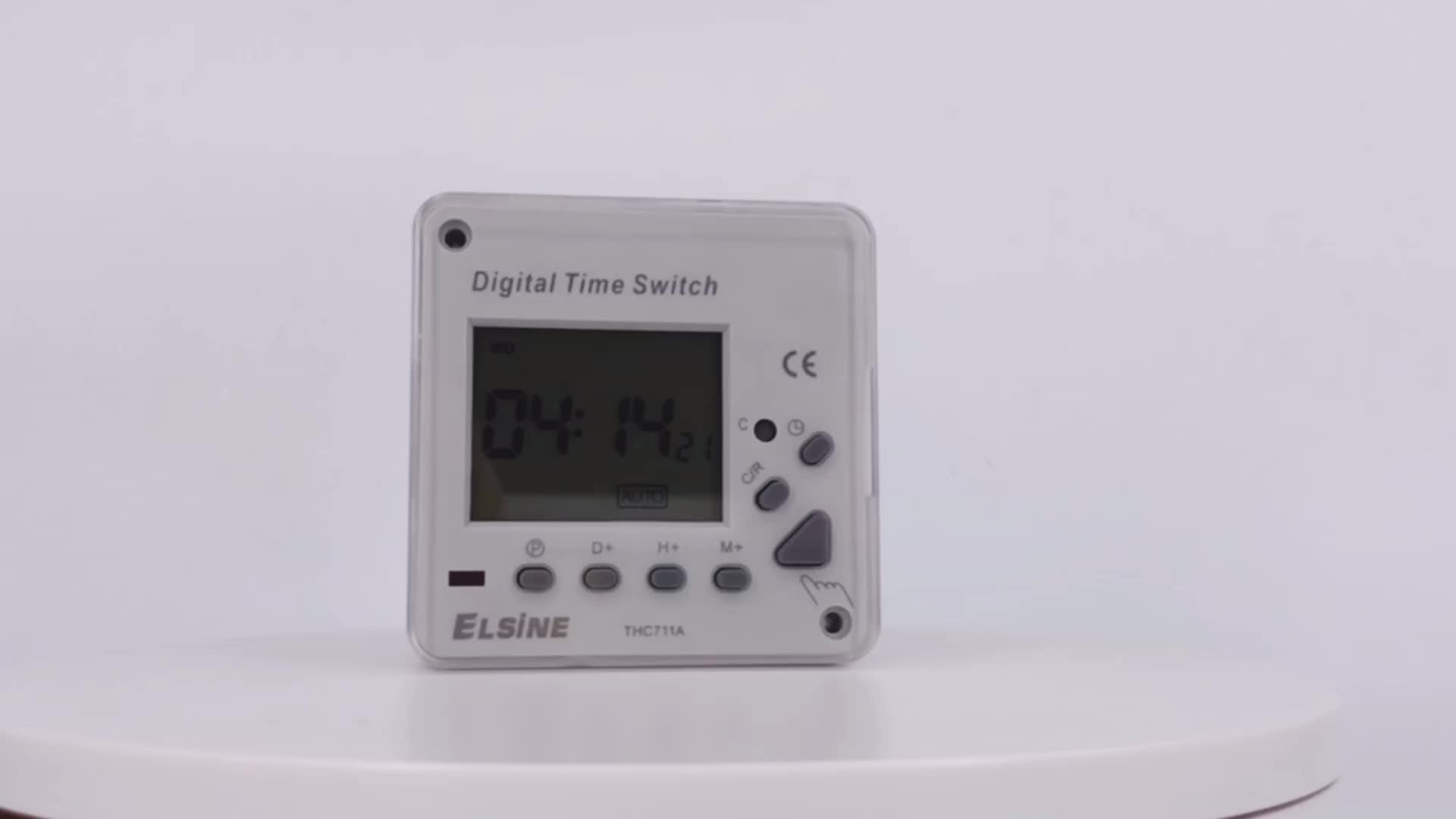 THC711 Weekly Programmable Timer Switch Battery Powered digital countdown timer switch