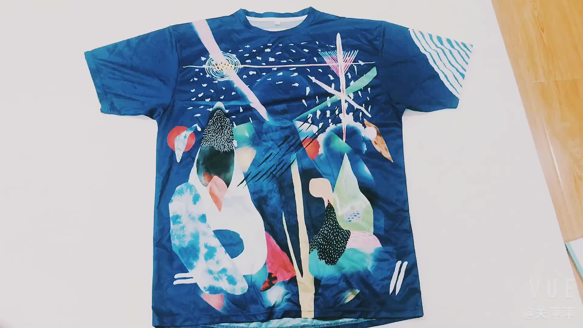 Fashion t-shirt drukmachine custom vrouwen shirt groothandel