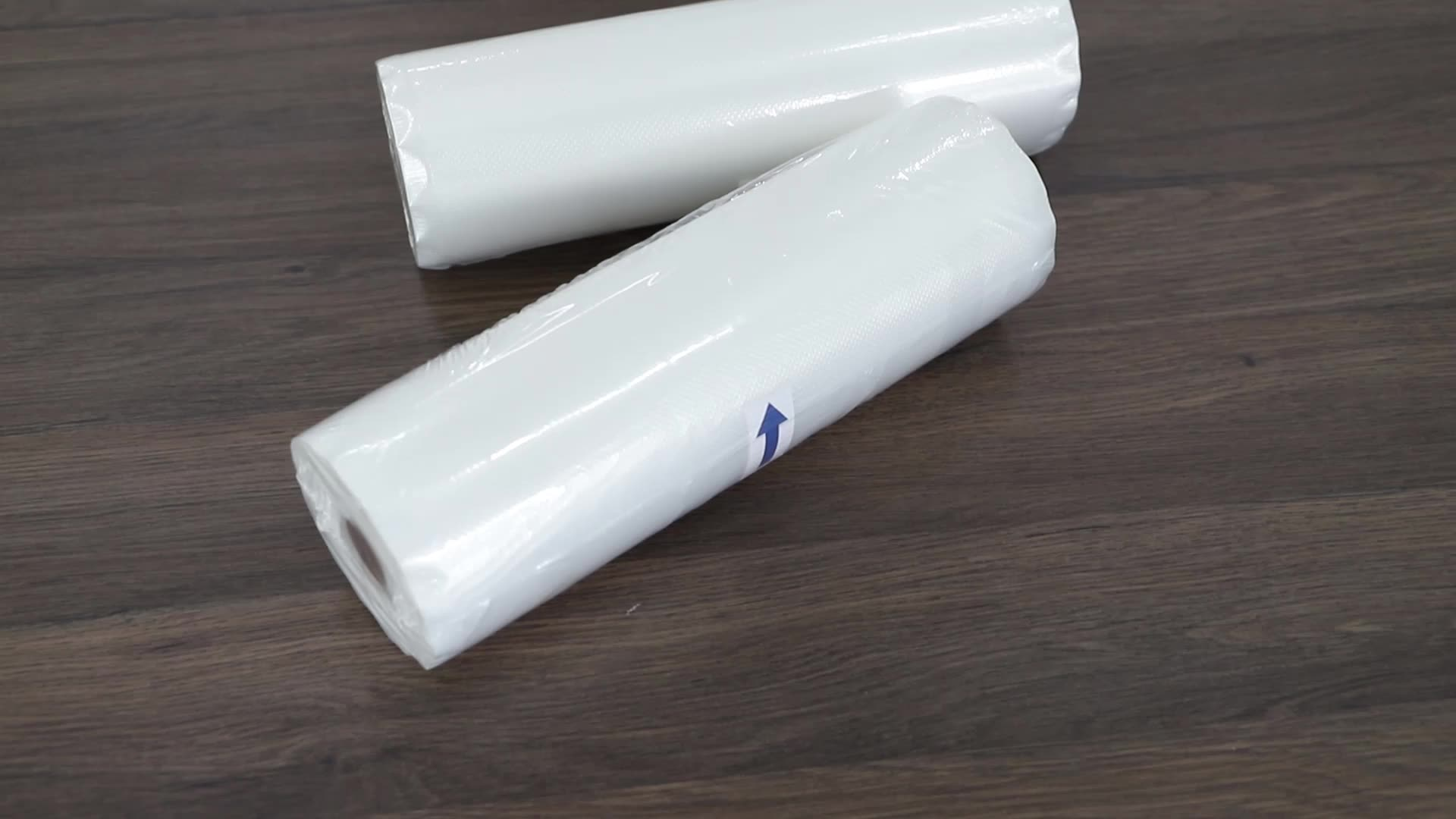 "Hot selling 2 pack  8"" X 50' size 3.5mil PA PE vacuum sealer bag rolls packaging bag ready to ship"