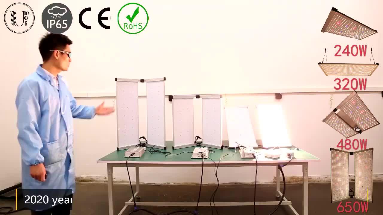 Indoor-anlage dimmer control neue cob chip 480w 650w 1000w evg quantum bord led wachsen licht
