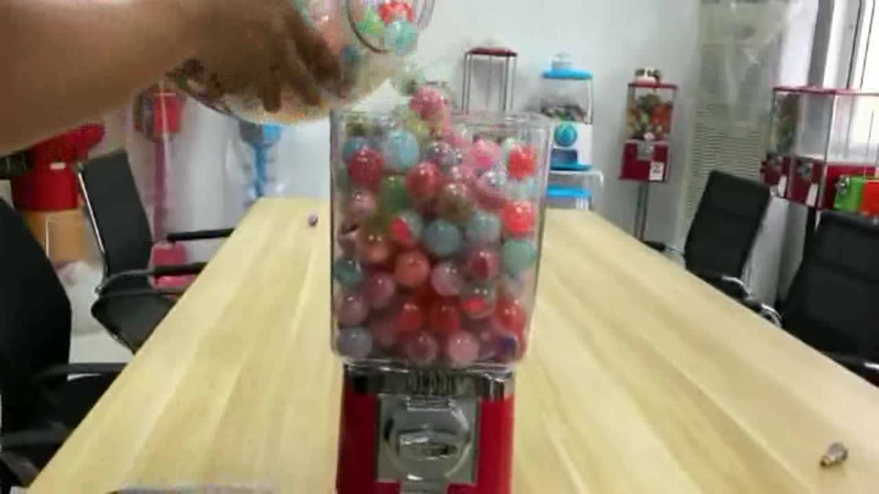 Capsule Toy Candy Gumball Machine for Sale