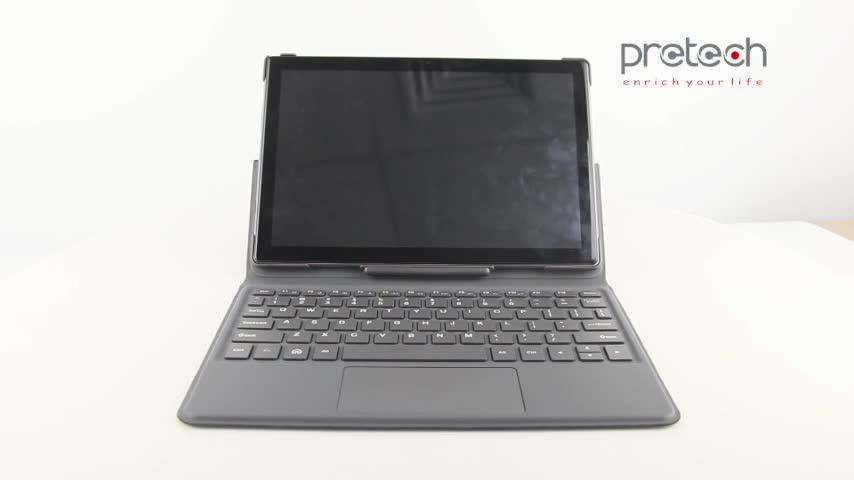 """10.1 """"convertible et détachable 2in1 tablette PC avec clavier, Intel CherryTrail Z8350, conception à 3 voies"""