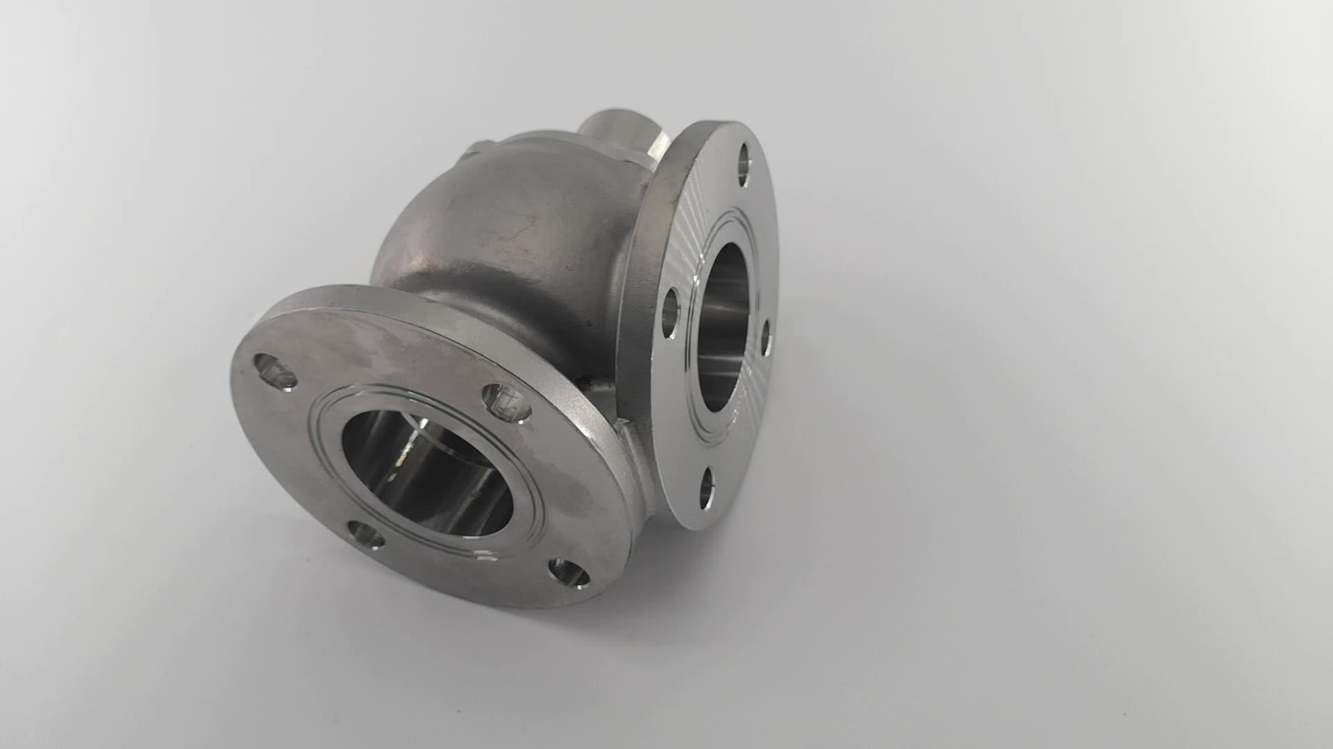 SS304 paslanmaz çelik döküm parçaları pompa