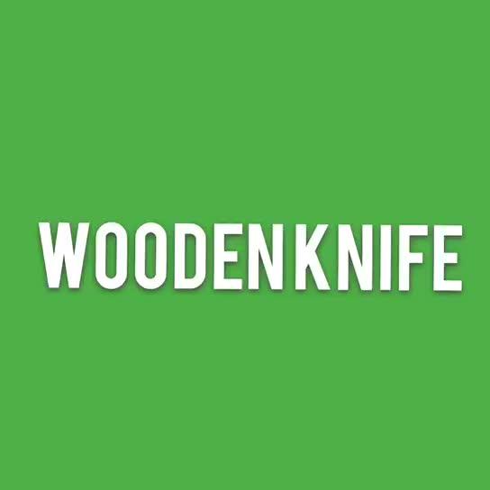 Fabriek Directe Verkoop Zijn Goedkope Wegwerp Houten bestek mes