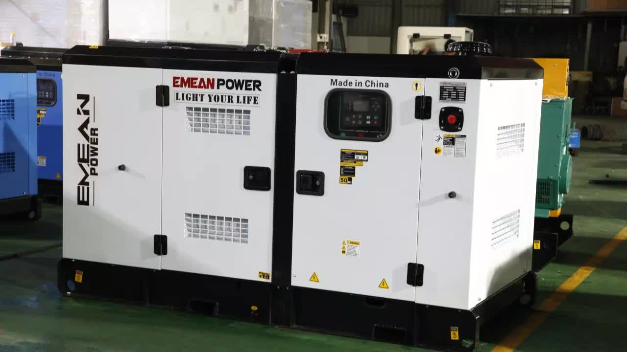 Low Noise 30kw Diesel Generator Cheap Price Diesel Generator with ISO Certificate Diesel Generator Made in China
