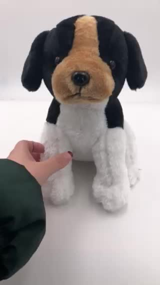 Very cute lovely plush toy dog stuffed animal puppy plush toys
