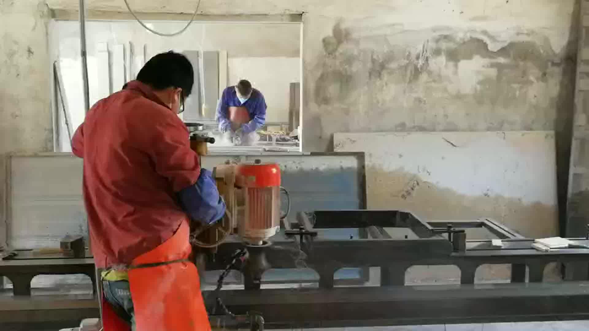Stein profilierung linie maschine granit marmor edelstein polierer rand profilierung polieren arbeitsplatte linie maschinen