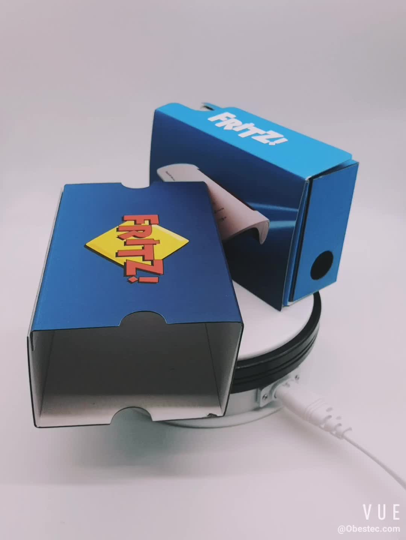 Wholesale 3D Cardboard Glasses virtual reality VR 3D glasses box