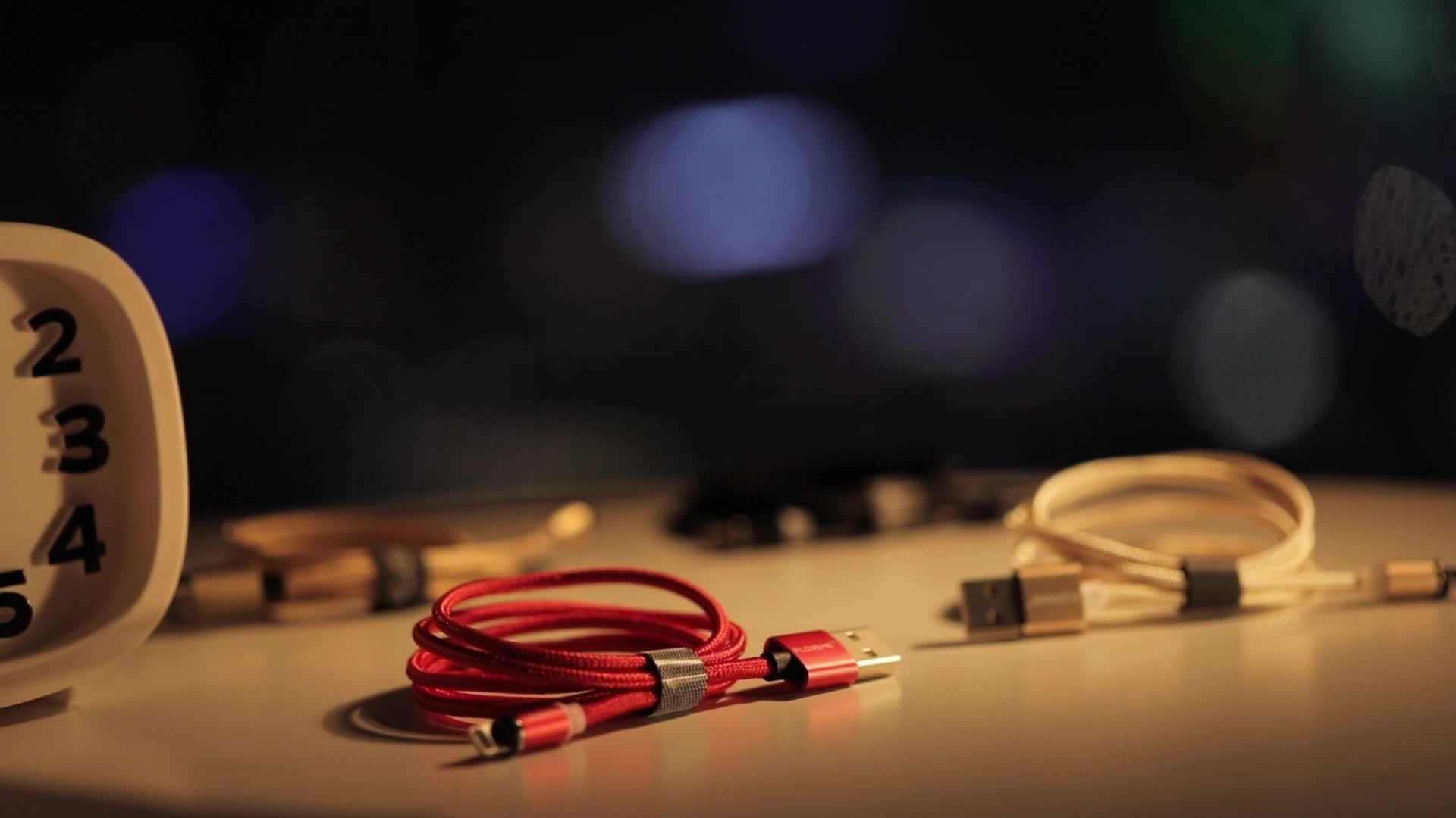 Frete Grátis FLOVEME Ímã USB Cabo de Carregamento Do Telefone Celular Acessórios Do Telefone Móvel Magnético 1 Cabo do Carregador de 3M