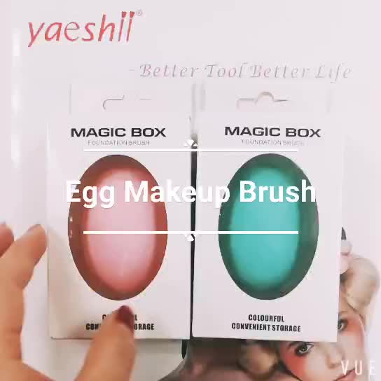 Yaeshii beauty mini facial brush portable soft brush cleansing mask cleaning nylon with pink /black color facial deep brush