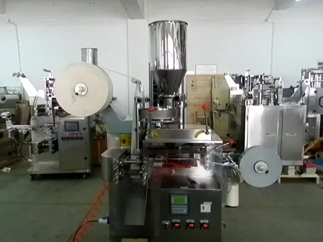 Inner Filter Bag with Thread and Tag Packing Machine for Tea