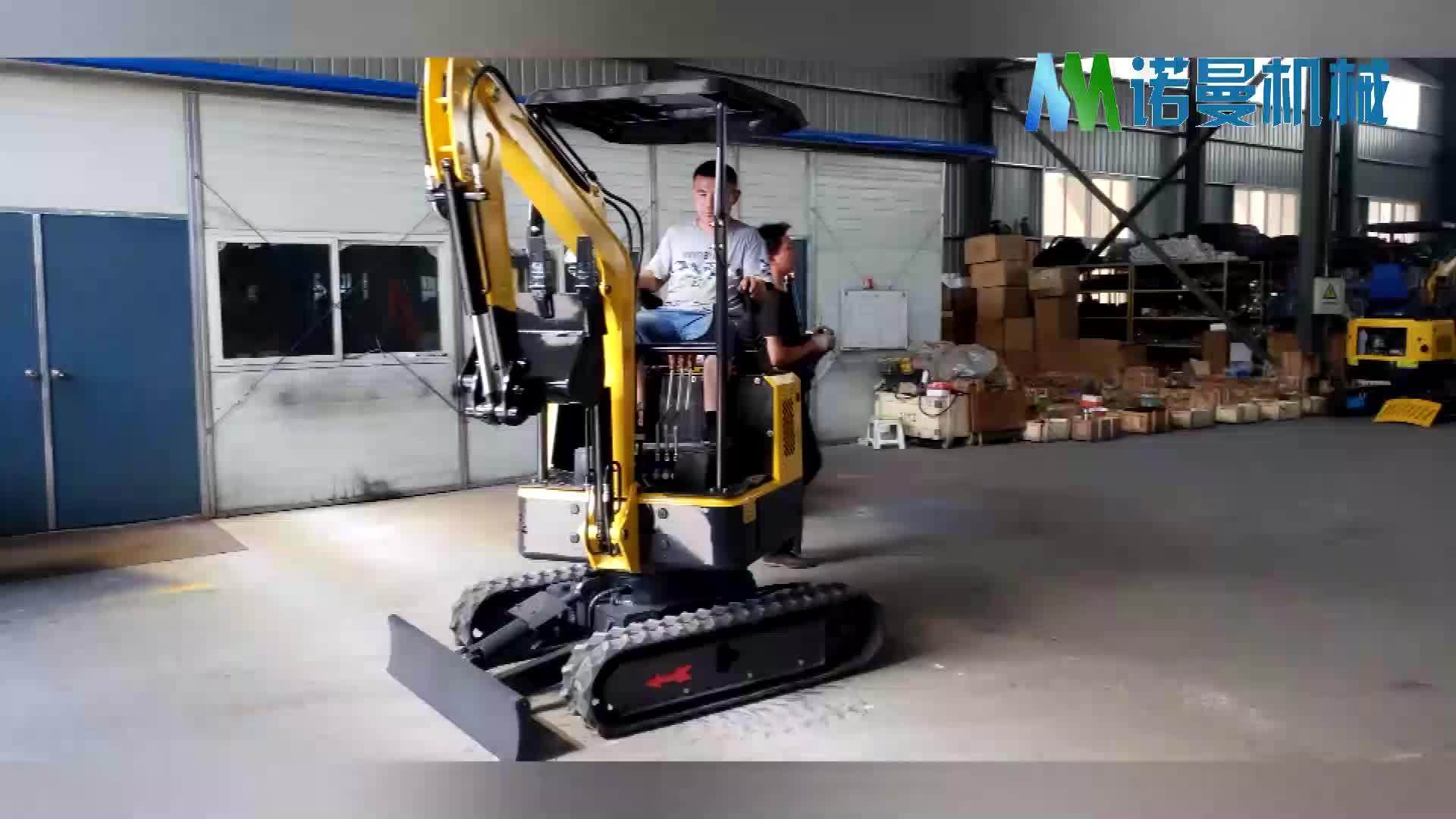 O envio gratuito de Hidráulica piloto joystick mini pelle/bagger/digger escavadeira equipado 3 3TNV70 cilindros refrigerado a água do motor