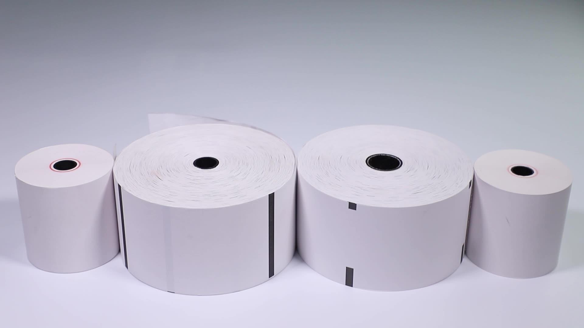 Kostenlose Probe 80mm 57mm Cash Register Bis Empfang Band Druck Papel Termico Pos Terminal Thermische Papier Rolle