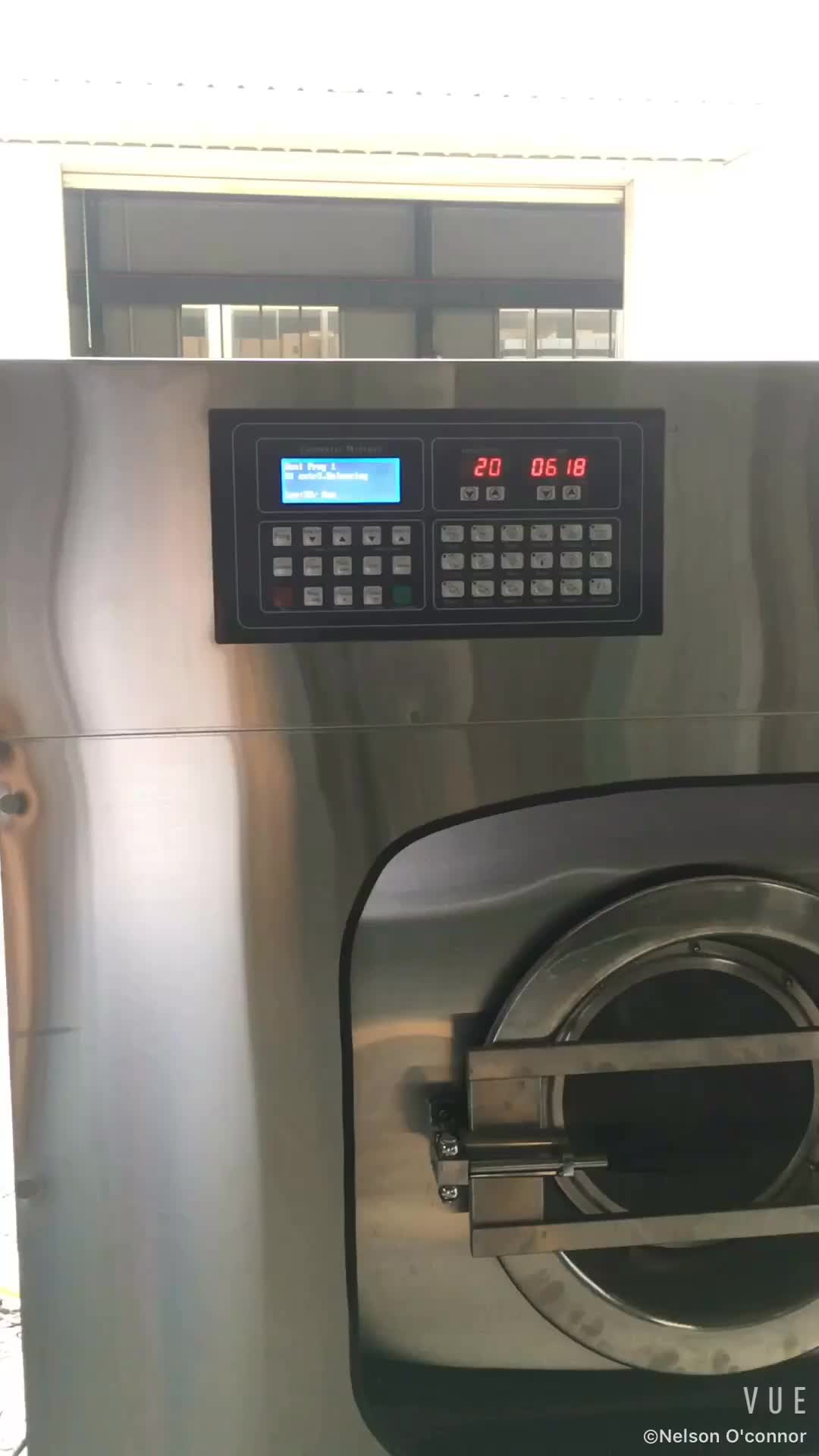 Laundry washing machine industrial