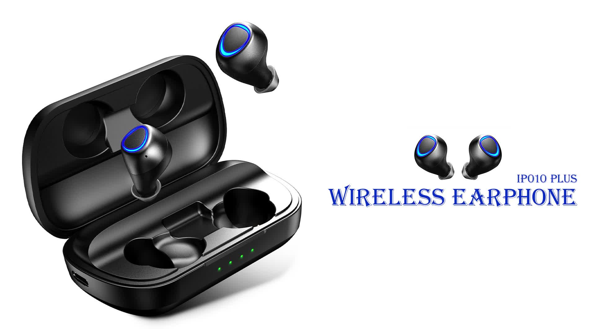 IP010 Plus Headphone CE ROHS FCC Certified IPX7 Wireless Earphone with Design Patent