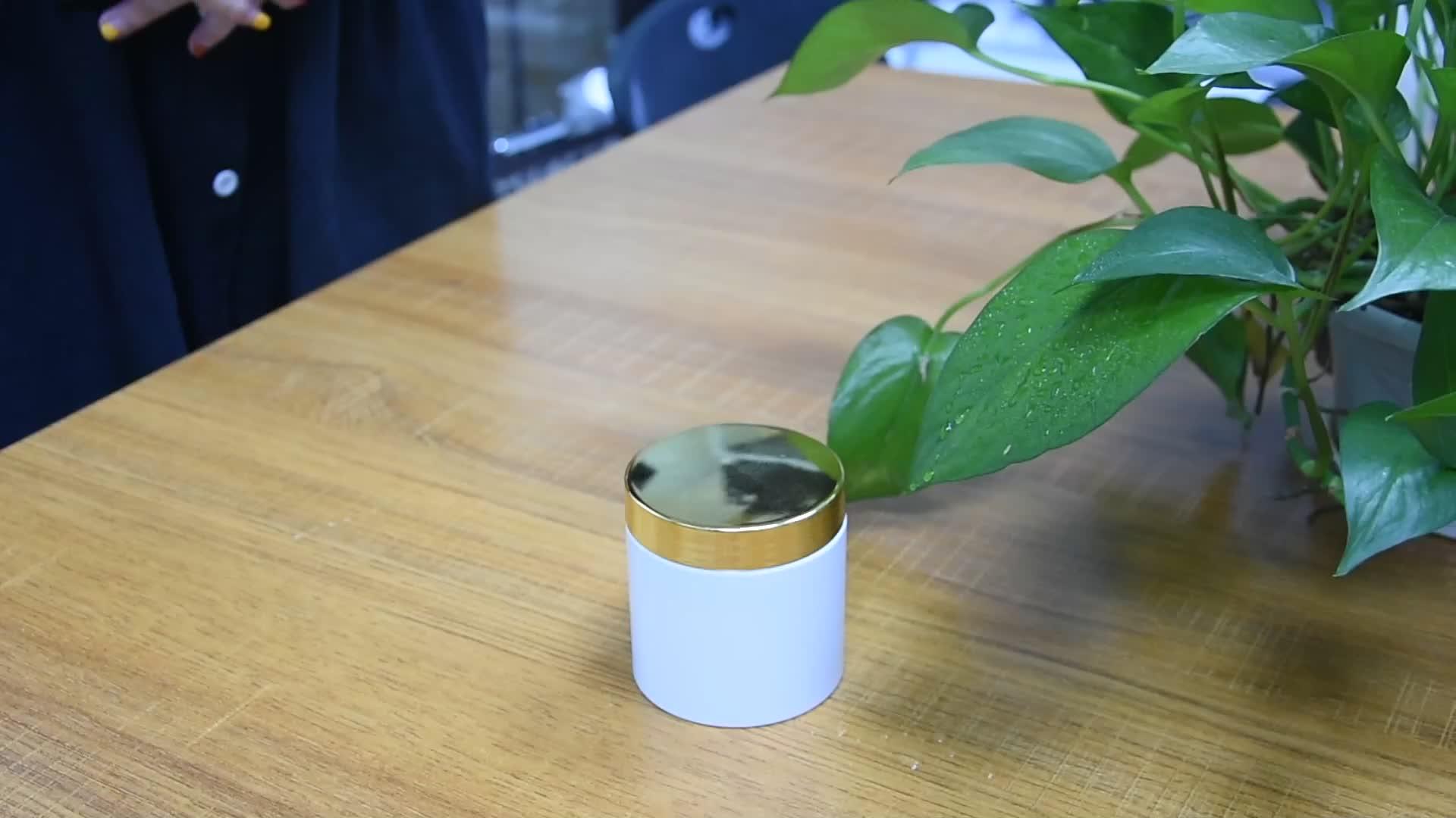 सफेद 200g पालतू बाल कंडीशनर पैकेजिंग जार प्लास्टिक कॉस्मेटिक जार त्वचा की देखभाल शरीर क्रीम कंटेनर प्लास्टिक कॉस्मेटिक पैकेजिंग