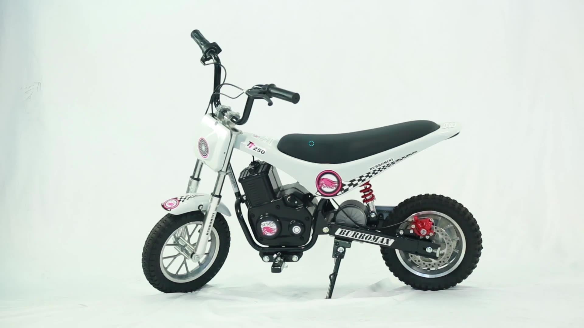 fashionable design off - road for children ride on mini dirt bike