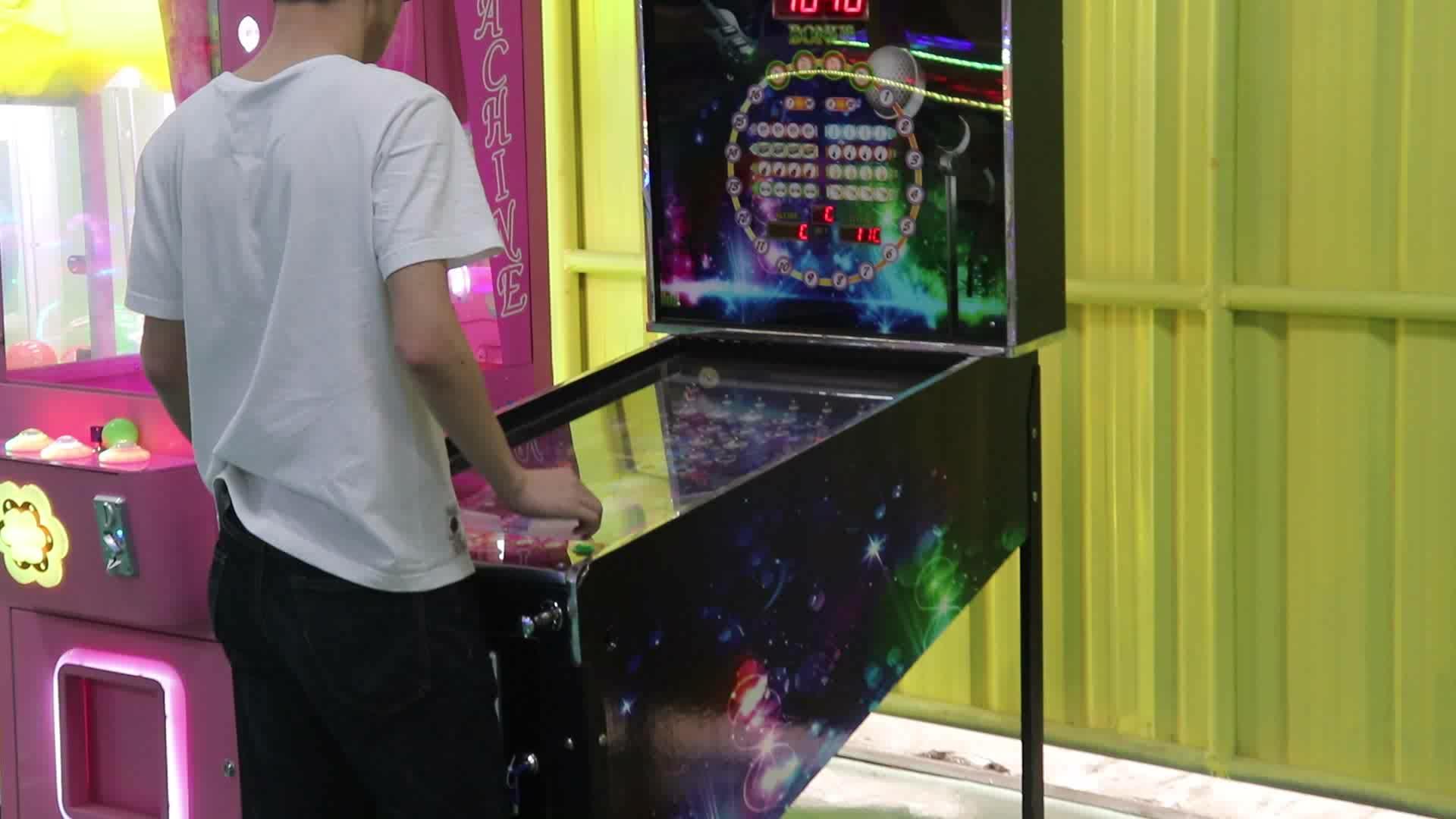 Virtual Elektronik Perjudian Mesin Pinball Menyimpan Skor Tinggi Fungsi Arcade Permainan untuk Orang Dewasa