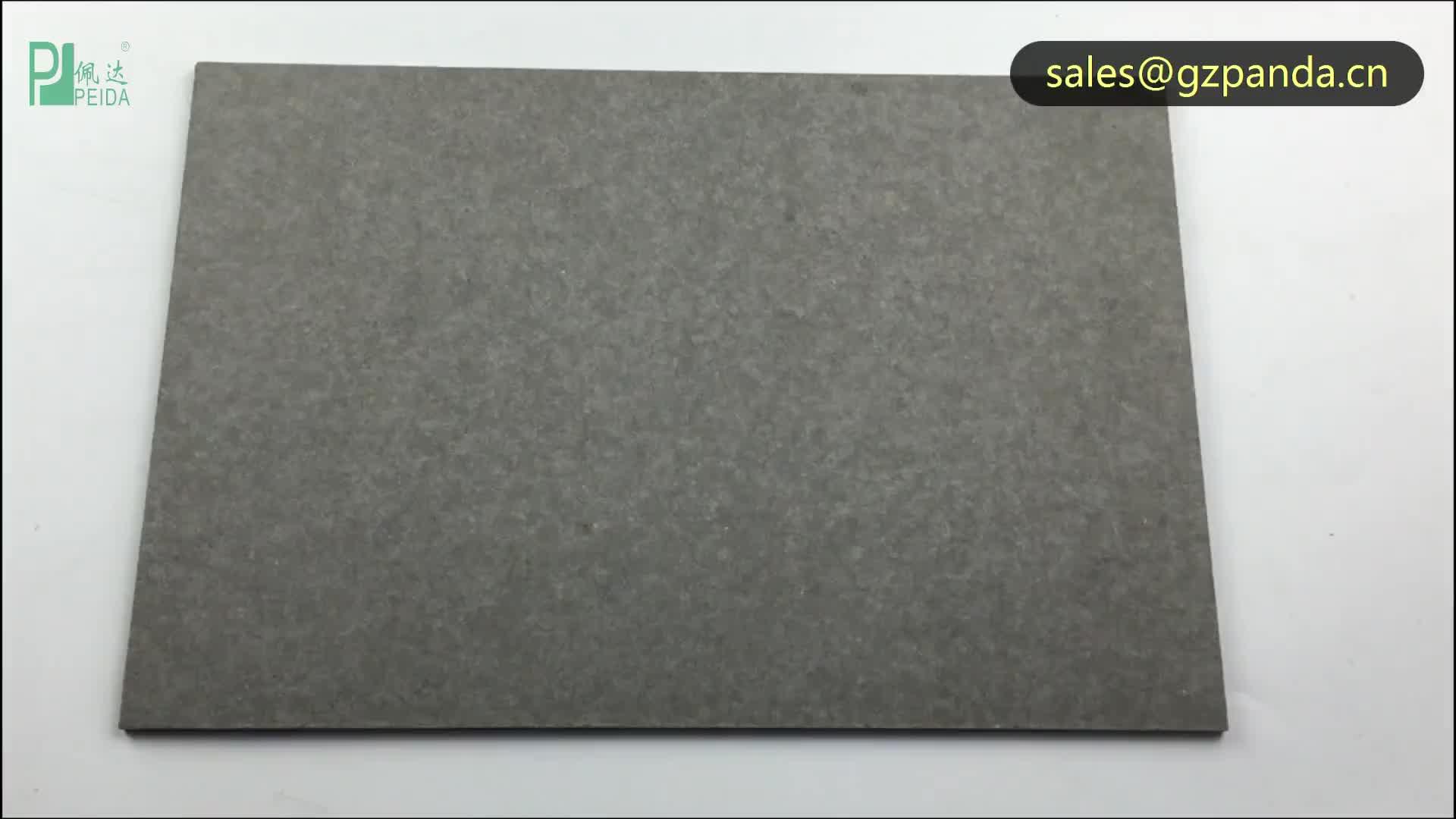 Non-Asbestos Dark Grey Fiber Cement Board Guangzhou Price