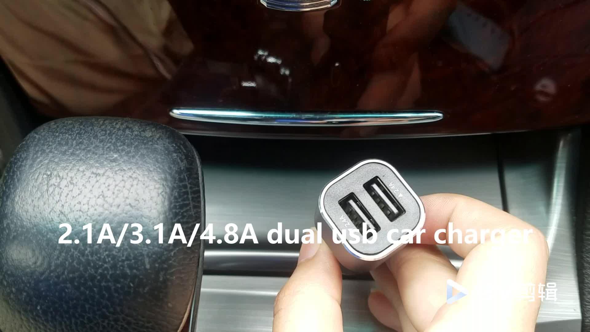 Shenzhen Fabrik Großhandel Auto Ladegerät, Smart QC3.0 Auto Ladegerät Für Handy