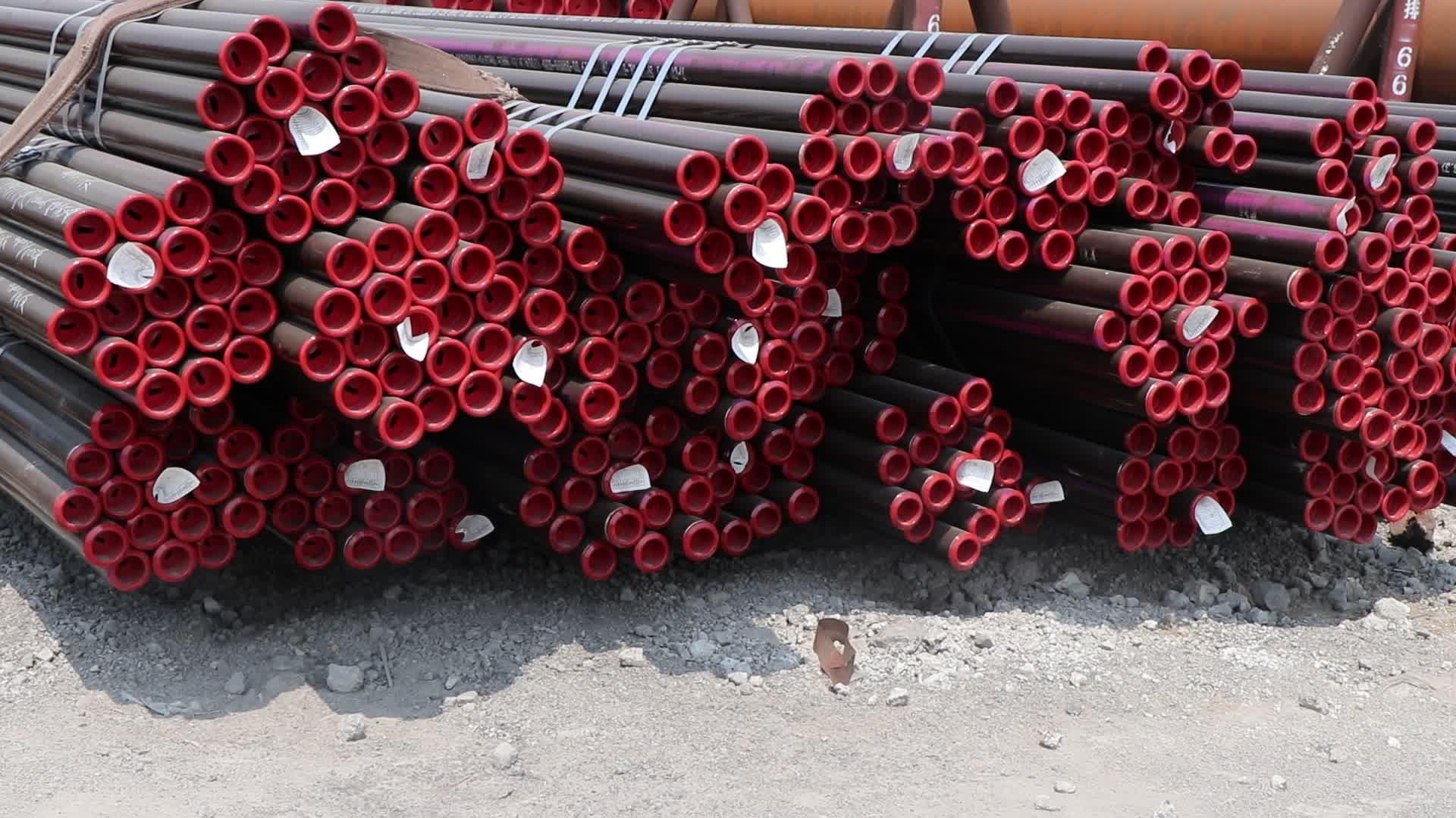 Thép carbon liền mạch ống complaince API 5L asme B36.10M lớp B để X70