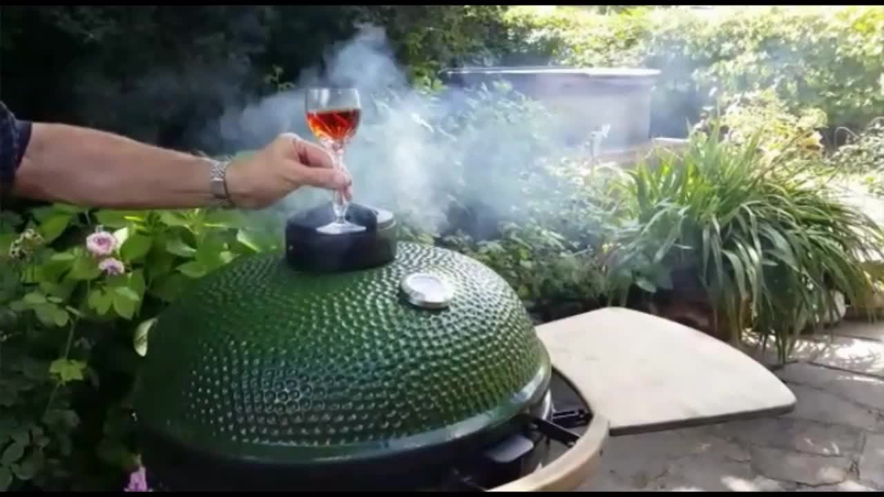 TOPQ factory 25inch large outdoor kitchen portable ceramic kamado bbq grill tandoor clay oven