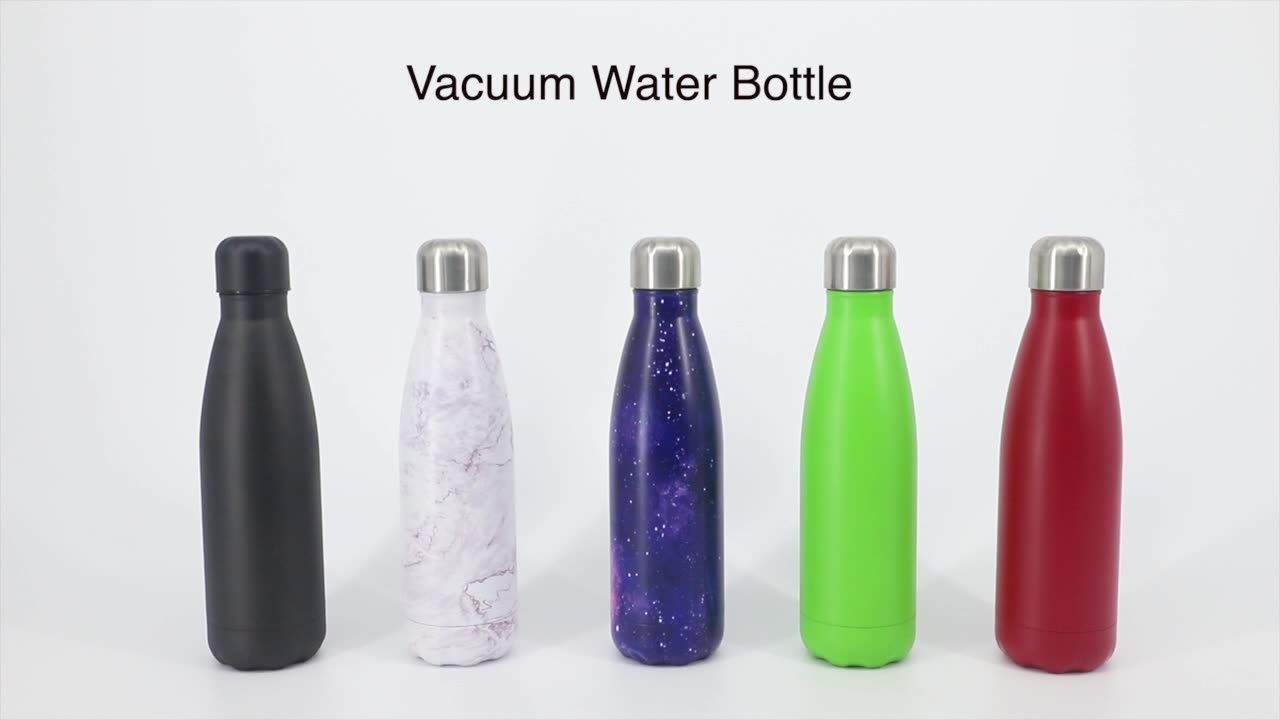 Factory Sublimation Custom Logo Sport Drink Double Wall Stainless Steel Insulated Vacuum Water Bottle
