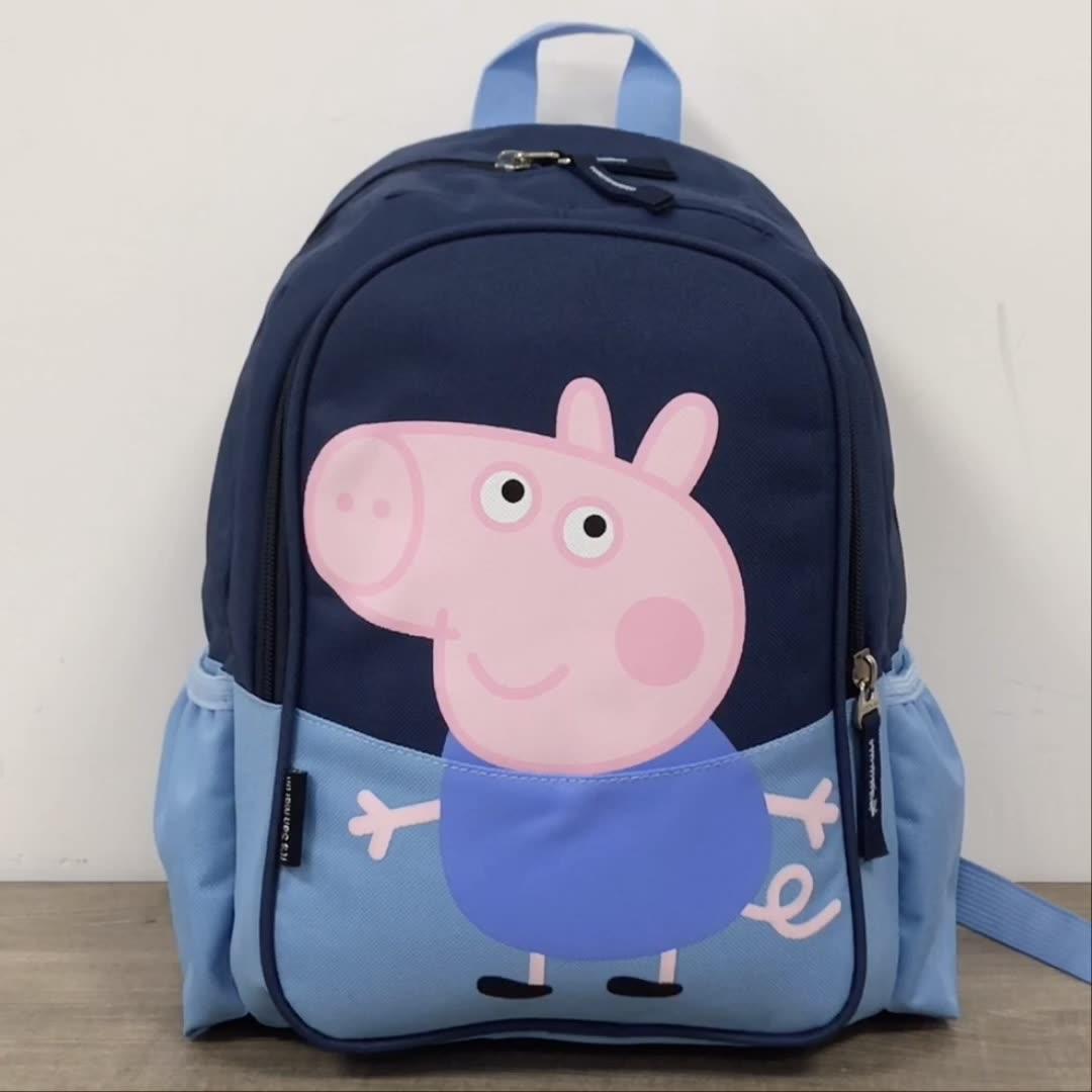नवीनतम छोटे बच्चों को स्कूल बैग प्यारा आकर्षक कार्टून सुअर पैटर्न किताब बैग के लिए दैनिक उपयोग के लिए एकदम सही और महान उपहार बच्चों के लिए