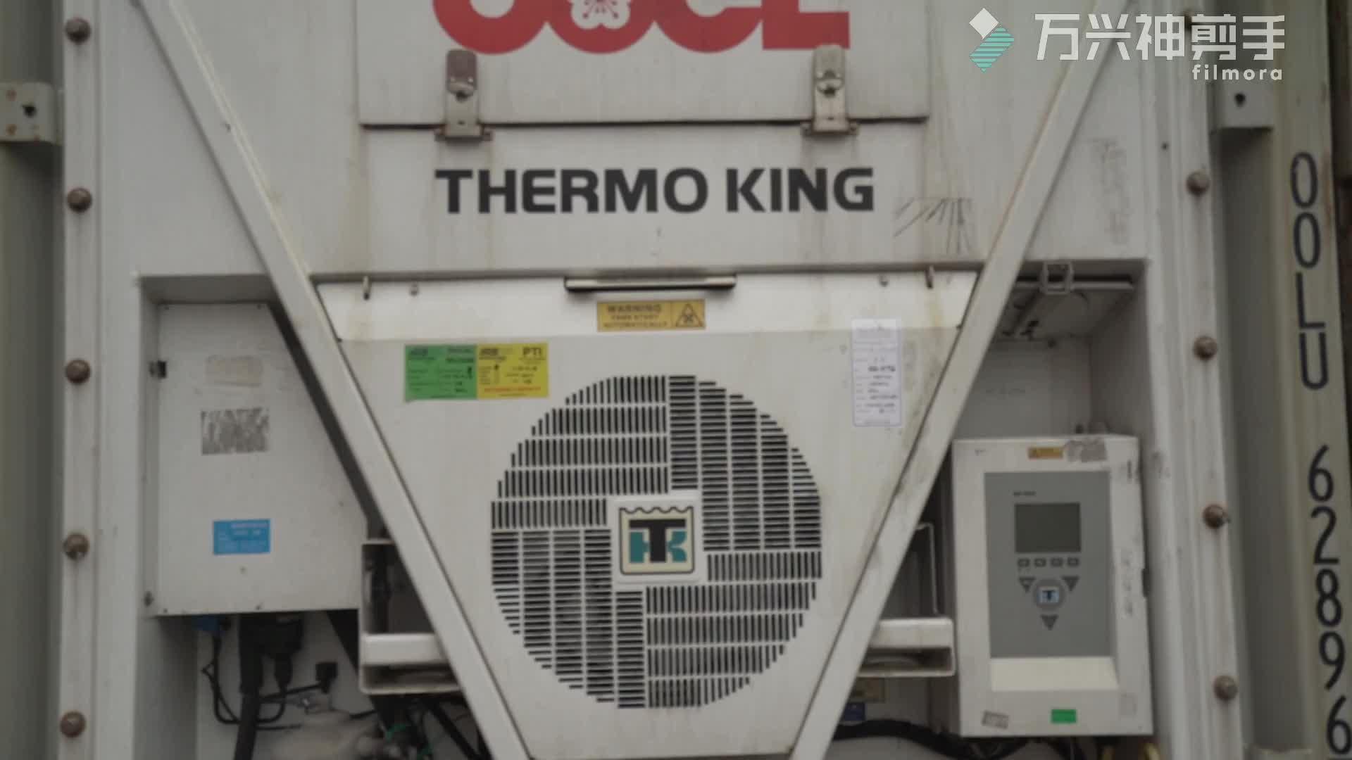 Iso 20ft 40ft中古リーファー/冷蔵コンテナ価格