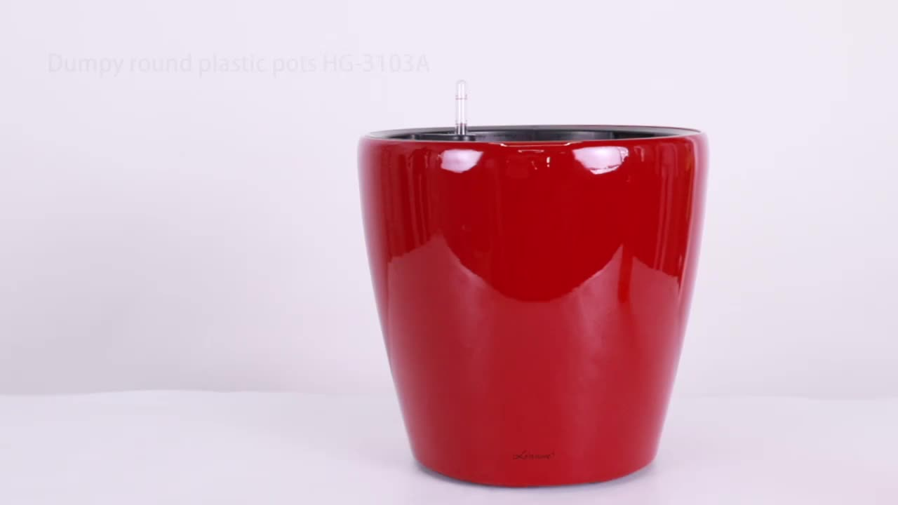 Leizisure Indoor Schreibtisch Kegel Runde Mini Kunststoff Kleine Farbige Blume Pflanze Topf und Pflanzer