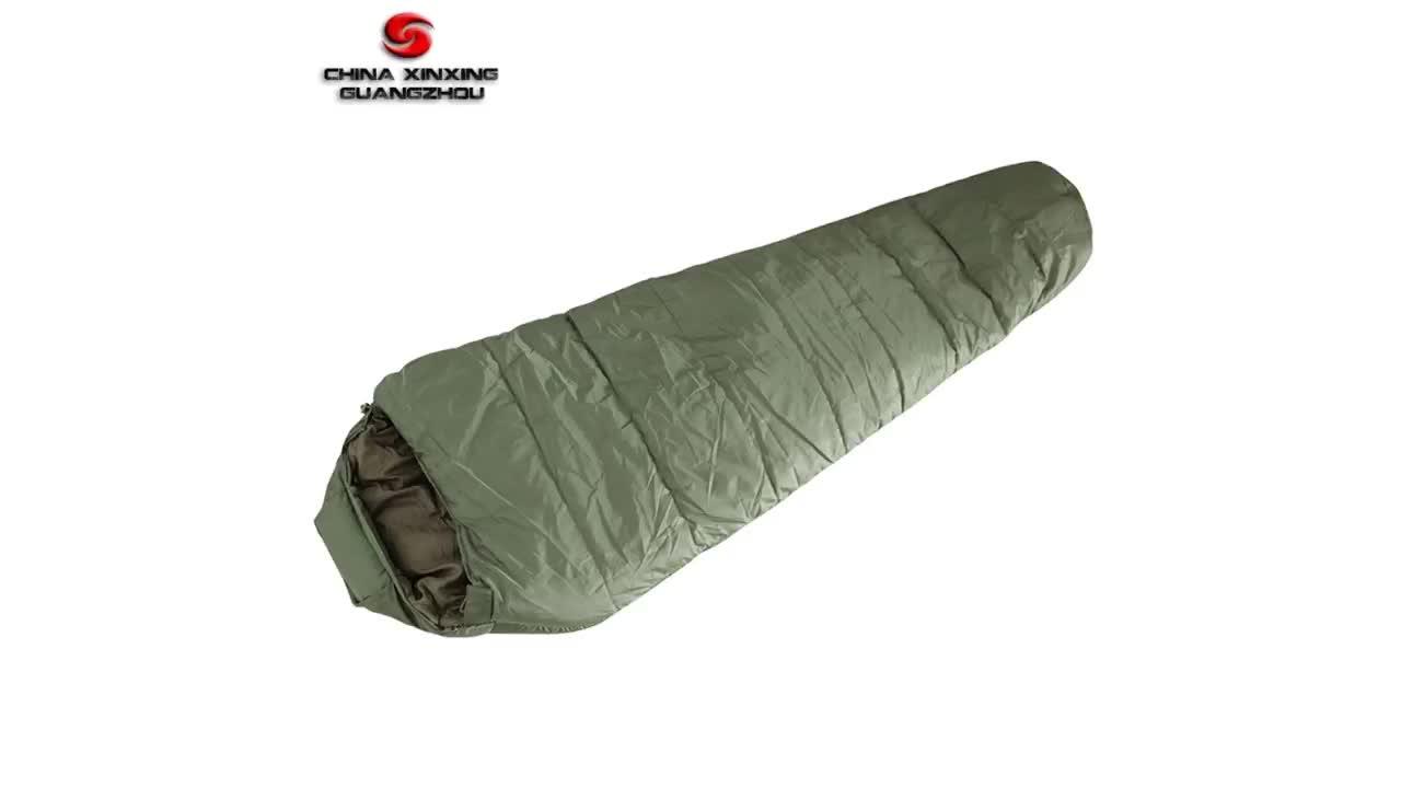 방수 경량 군사 캠핑 하이킹 미라 침낭 인증서