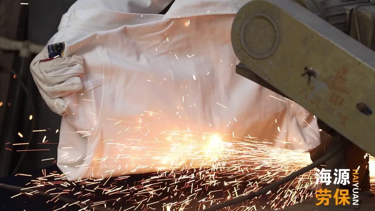 Yüksek kaliteli yansıtıcı yangına dayanıklı üniforma