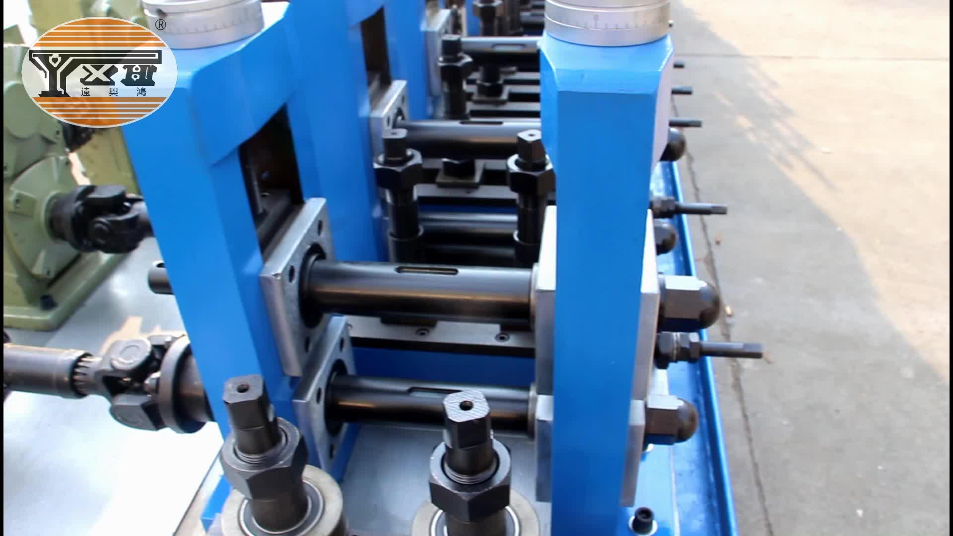 Lassen Plant Rvs Lasmachine Gemakkelijk Bedienen Pijp Maken Machine