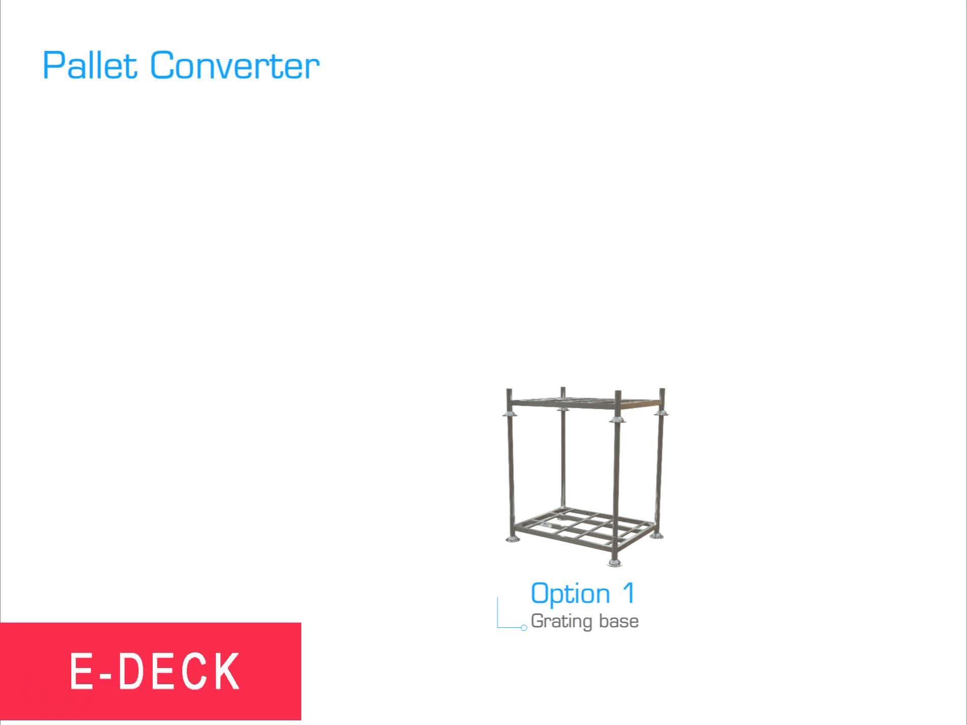 Magazzino regolabile pieghevole europa impilabile zincato mobile impilabile in metallo a basso prezzo rack post pallet produttori