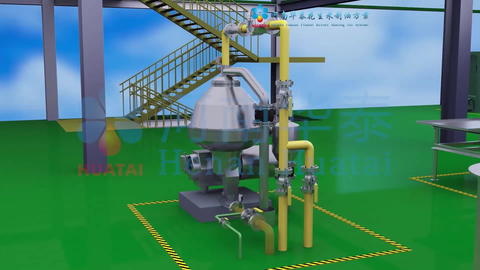 1-1000TPD crude vegetable oil refine machine, cooking oil refinery