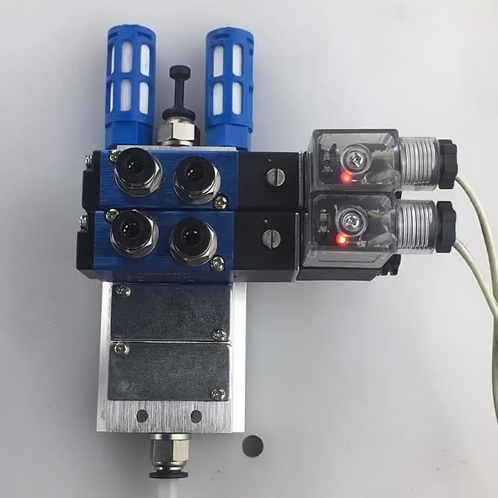4V210 2/5 Cara Tunggal Kontrol Piring Jenis Pneumatik Solenoid Valve 4v210-08